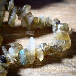 Jewelry - Set of 3 Smoky Quartz Stretch Bracelets